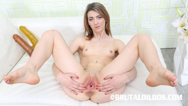 Petite brunette gets fucked in all positions by huge black dick 9